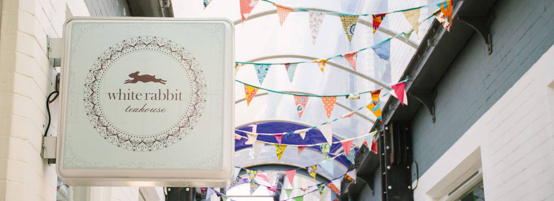 White Rabbit Teahouse Bunting